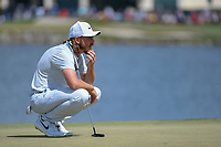 Tommy Fleetwood (ENG) looks over his putt on 6 during round 4 of the Arnold Palmer Invitational at Bay Hill Golf Club, Bay Hill, Florida. 3/10/2019.<br /> Picture: Golffile | Ken Murray<br /> <br /> <br /> All photo usage must carry mandatory copyright credit (© Golffile | Ken Murray)