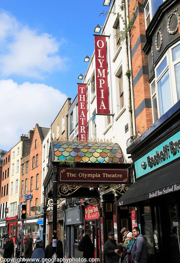 The Olympia Theatre, Dublin city centre, Ireland, Republic of Ireland opened 1879