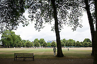 Summer day in Chelsea, London, UK