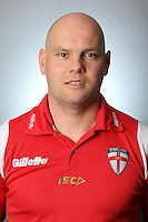 PICTURE BY VAUGHN RIDLEY/SWPIX.COM - Rugby League - England Knights Rugby League Headshots & Team Group - Leigh Sports Village, Leigh, England - 23/10/12 - England Knights Head Coach Kieron Purtill.