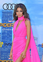 www.acepixs.com<br /> <br /> June 28 2017, LA<br /> <br /> Zendaya arriving at the premiere of Columbia Pictures' 'Spider-Man: Homecoming' at the TCL Chinese Theatre on June 28, 2017 in Hollywood, California.<br /> <br /> By Line: Peter West/ACE Pictures<br /> <br /> <br /> ACE Pictures Inc<br /> Tel: 6467670430<br /> Email: info@acepixs.com<br /> www.acepixs.com