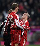 Fussball Bundesliga 2010/11, 14. Spieltag: FC Bayern Muenchen - Eintracht Frankfurt