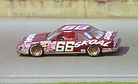 Phil Parsons 66 Oldsmobile action Daytona 500 at Daytona International Speedway in Daytona Beach, FL in February 1986. (Photo by Brian Cleary/www.bcpix.com) Daytona 500, Daytona International Speedway, Daytona Beach, FL, February 16, 1986.  (Photo by Brian Cleary/www.bcpix.com)