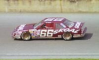 Phil Parsons 66 Oldsmobile action Daytona 500 at Daytona International Speedway in Daytona Beach, FL in February 1986. (Photo by Brian Cleary/www.bcpix.com) Daytona 500, Daytona International Speedway, Daytona Beach, FL, February 16, 1986.  (Photo by Brian Cleary/www.bcpix.com)