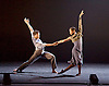 Ballet Black <br /> Triple Bill <br /> at the Barbican Theatre, London, Great Britain <br /> Press photocall / rehearsal <br /> 2nd March 2017 <br /> <br /> <br /> <br /> Captured by Martin Lawrence <br /> <br /> Cira Robinson <br /> Mthuthuzeli November <br /> <br /> <br /> Photograph by Elliott Franks <br /> Image licensed to Elliott Franks Photography Services