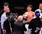 NOV 23 2019 Las Vegas Nevada: Vito Mielnicki, Jr. (White Geen Trunks) 47lbs  Roseland, NJ. Vs Marklin Bailey 143.5lbs    (Black Gold Trunks) Durham, NC. Welterweights 4 rounds