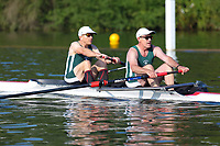 Race: 201  MasD.2-  Semi-Final<br /> 59  Abingdon Rowing Club<br /> 61  Maidenhead Rowing Club (Scott)<br /> <br /> Henley Masters Regatta 2018 - Saturday<br /> <br /> To purchase this photo, or to see pricing information for Prints and Downloads, click the blue 'Add to Cart' button at the top-right of the page.