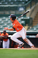 Baltimore Orioles Cole Billingsley (91) during an Instructional League game against the Tampa Bay Rays on September 19, 2016 at Ed Smith Stadium in Sarasota, Florida.  (Mike Janes/Four Seam Images)