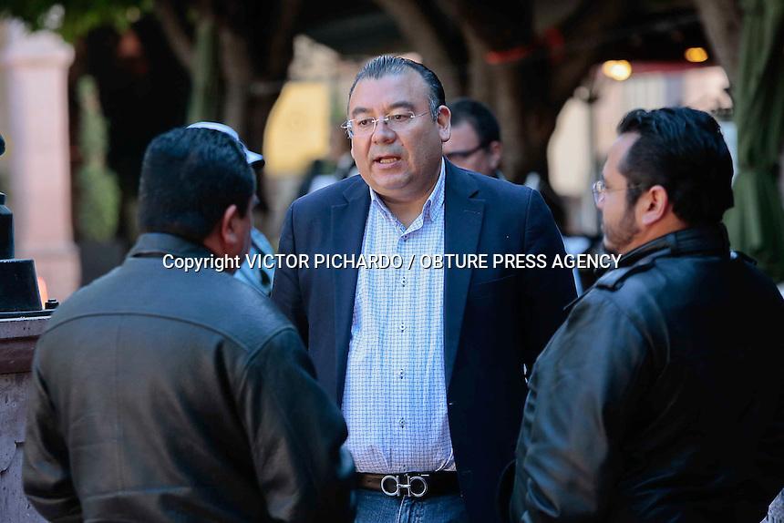 Quer&eacute;taro, Qro. 17 FEBRERO 2016.- Adolfo Camcho, L&iacute;der del PRD en Quer&eacute;taro<br /> <br /> Foto: Victor Pichardo / Obture Press Agency