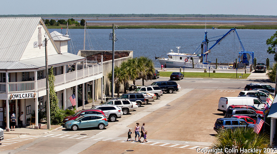 Fresh seafood makes a very short trip from boat to plate in Apalachicola...COLIN HACKLEY PHOTO