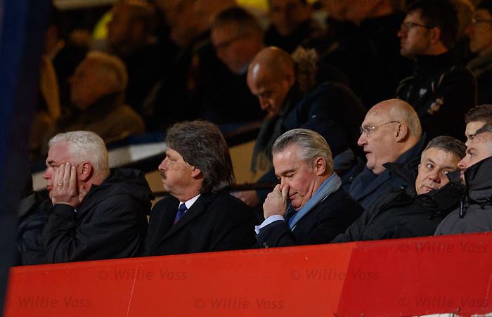 Rangers directors looking on