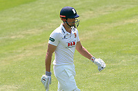 Alastair Cook of Essex leaves the field having been dismissed for 39 during Essex CCC vs Warwickshire CCC, Specsavers County Championship Division 1 Cricket at The Cloudfm County Ground on 19th June 2017