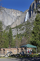 Yosemite National Park, California, USA, cabins, very basic, shared toilets, shared washrooms, 201304181524<br /> <br /> Copyright Image from Victor Patterson, 54 Dorchester Park, Belfast, UK, BT9 6RJ<br /> <br /> Tel: +44 28 9066 1296<br /> Mob: +44 7802 353836<br /> Voicemail +44 20 8816 7153<br /> Skype: victorpattersonbelfast<br /> Email: victorpatterson@me.com<br /> Email: victorpatterson@ireland.com (back-up)<br /> <br /> IMPORTANT: If you wish to use this image or any other of my images please go to www.victorpatterson.com and click on the Terms &amp; Conditions. Then contact me by email or phone with the reference number(s) of the image(s) concerned.
