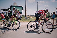 Thomas De Gendt (BEL/Lotto Soudal) at the end of pav&eacute; sector #9<br /> <br /> Stage 9: Arras Citadelle &gt; Roubaix (154km)<br /> <br /> 105th Tour de France 2018<br /> &copy;kramon
