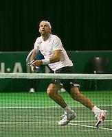08-02-2014, Netherlands, Rotterdam, Ahoy, ABNAMROWTT,  Thanasi Kokkinakis (AUS) <br /> Photo:Tennisimages/Henk Koster