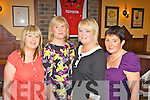 Birthday night out for Clare Mulcahy(2nd right) fromAbbeyfeale, pictured here celebrating with friends Helen Templeman, Liz Corbett and Nora Moore last Saturday night in Leen's Hotel, Abbeyfeale.