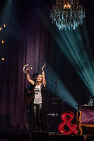 SÃO PAULO, SP, 30.08.2018 - SHOW-SP - Sandy durante apresentação do seu show Nos Voz Eles no Credicard Hall em São Paulo, nesta quinta-feira, 30. (Foto: Bruna Grassi/Brazil Photo Press)