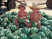 Interlitho, CHILDREN, photos, kids, watermelons(KL15977,#K#) Kinder, niños
