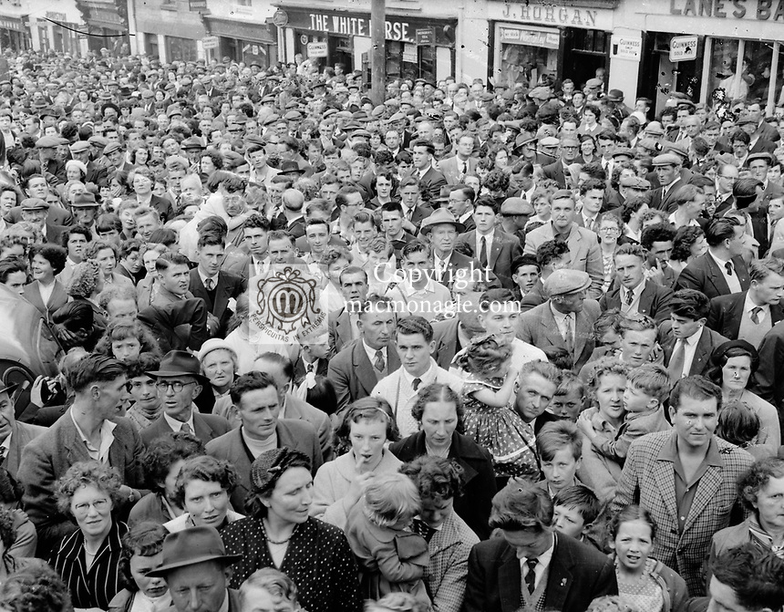 Puck Fair in the 1950's.<br /> Picture by Harry MacMonagle<br /> <br /> <br /> e: info@macmonagle.com