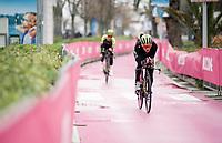 preparations for Stage 9 (ITT): Riccione to San Marino (34.7km)<br /> 102nd Giro d'Italia 2019<br /> <br /> ©kramon