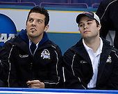 Andrew Gallant (Manhattanville College - Summerside, PEI) and T.J. Hensick (University of Michigan - Howell, MI) - The Hobey Baker Memorial Award ceremony was held at center ice on Friday, April 6, 2007, at the Scottrade Center in St. Louis, Missouri.