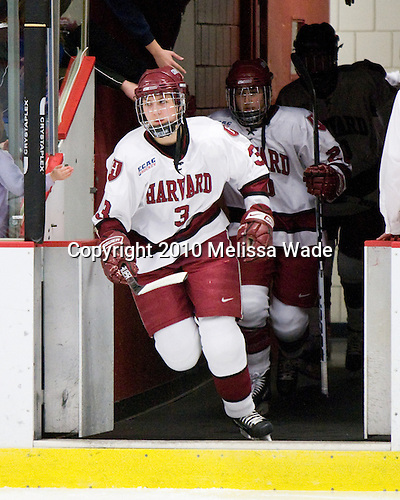 Liza Ryabkina (Harvard - 3) - The Harvard University Crimson defeated the Northeastern University Huskies 1-0 to win the 2010 Beanpot on Tuesday, February 9, 2010, at the Bright Hockey Center in Cambridge, Massachusetts.