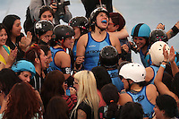 Roller Derby 2016 Latino Metropolitano Bonecrasher vs Metropolitan
