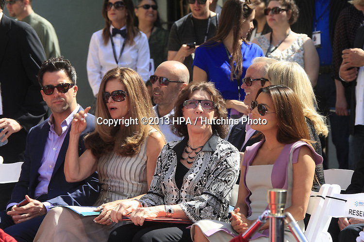LOS ANGELES - APR 26:  Troy Garity, Maria Shriver, Lily Tomlin, Eva Longoria at the Jane Fonda Hand and FootPrint Ceremony at the Chinese Theater on April 26, 2013 in Los Angeles, CA