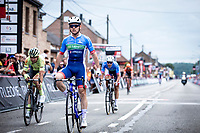 Thomas Boudat (FRA/Total Direct Energie) wins the race after he managed to make the crossing from the chasing group to the front group in the final phase of the race.  Baptiste Planckaert (BEL/Wallonie Bruxelles) and Niki Terpstra (NED/Total Direct Energie) finishes place 2 and 3. <br /> <br /> Circuit de Wallonie 2019<br /> One Day Race: Charleroi – Charleroi 192.2km (UCI 1.1.)<br /> Bingoal Cycling Cup 2019