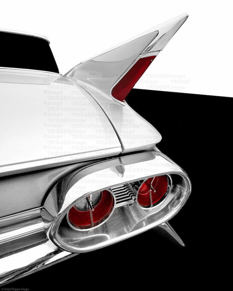1961 Cadillac Tail Fin Detail