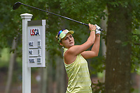 Lexi Thompson (USA) watches her tee shot on 11 during round 1 of the U.S. Women's Open Championship, Shoal Creek Country Club, at Birmingham, Alabama, USA. 5/31/2018.<br /> Picture: Golffile   Ken Murray<br /> <br /> All photo usage must carry mandatory copyright credit (© Golffile   Ken Murray)