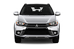 Car photography straight front view of a 2019 Mitsubishi ASX Invite Style 5 Door SUV