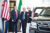 Washington DC, April 20, 2017, USA:  President Donald J Trump welcomes the Italian Prime Minister Paolo Gentiloni to the White House . Photo by Patsy Lynch/MediaPunch