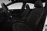 Front seat view of 2017 Volkswagen Jetta GLI 4 Door Sedan Front Seat  car photos