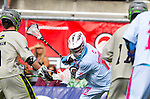 Costa Mesa, CA 06/08/13 - Sam Bradman (Team STX #12) in action during the inaugural game of the LXMPRO Tour in Orange County.  The Team STX defeated Team Maverik 14-13 at Orange Coast College's Bard Stadium.