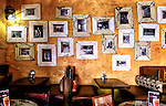 The Village Cafe in Swakopmond, Namibia has great food and all the colors of Namibia in one, beautiful place.  These photos, displayed in one of the restaraunt's many dining areas, chronicle the cafe's beginning.