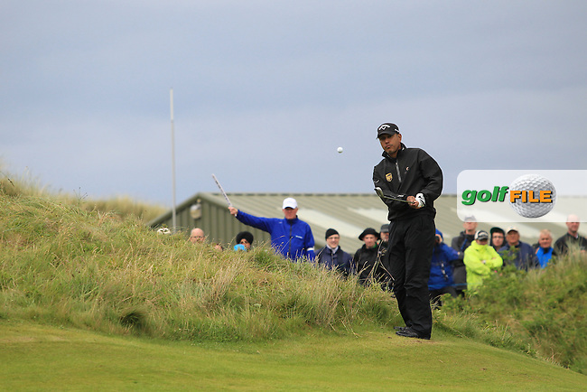 Jeev Milkha Singh (IND) on the 16th on Day 3 of the 2012 Irish Open at Royal Portrush Golf Club, Portrush, Co.Antrim, 30/6/12...(Photo Jenny Matthews/www.golffile.ie)