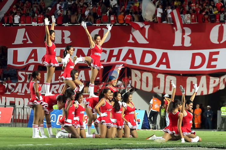 Cheerleaders. America de Cali vs Real Cartagena: 2-1 - Liga POSTOBON II 2011/12 - Jornada 17.