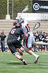 Torrance, CA 05/11/13 - Joey Lieberman (Harvard Westlake #6) and Hunter Edington (St Margarets #18) in action during the Harvard Westlake vs St Margarets 2013 Los Angeles / Orange County Championship game.  St Margaret defeated Harvard Westlake 15-8.