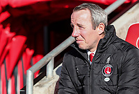 Charlton Athletic's manager Lee Bowyer <br /> <br /> Photographer Andrew Kearns/CameraSport<br /> <br /> The EFL Sky Bet League One - Fleetwood Town v Charlton Athletic - Saturday 2nd February 2019 - Highbury Stadium - Fleetwood<br /> <br /> World Copyright © 2019 CameraSport. All rights reserved. 43 Linden Ave. Countesthorpe. Leicester. England. LE8 5PG - Tel: +44 (0) 116 277 4147 - admin@camerasport.com - www.camerasport.com