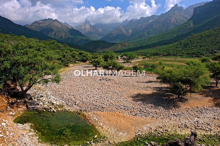 Vale Wadi Ayahft na Ilha de Socotra. Yemen. 2008. Foto de Caio Vilela.