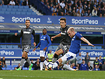 Davy Klaassen of Everton just misses to connect to a cross during the Europa League Qualifying Play Offs 1st Leg match at Goodison Park Stadium, Liverpool. Picture date: August 17th 2017. Picture credit should read: David Klein/Sportimage