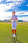 28 February 2016: Washington Nationals shortstop Brendan Ryan poses for his Spring Training Photo-Day portrait at Space Coast Stadium in Viera, Florida. Mandatory Credit: Ed Wolfstein Photo *** RAW (NEF) Image File Available ***
