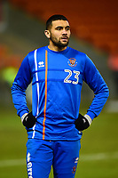 Blackpool's Colin Daniel looks on<br /> <br /> Photographer Richard Martin-Roberts/CameraSport<br /> <br /> The EFL Sky Bet League One - Blackpool v Charlton Athletic - Tuesday 13th March 2018 - Bloomfield Road - Blackpool<br /> <br /> World Copyright &not;&copy; 2018 CameraSport. All rights reserved. 43 Linden Ave. Countesthorpe. Leicester. England. LE8 5PG - Tel: +44 (0) 116 277 4147 - admin@camerasport.com - www.camerasport.com