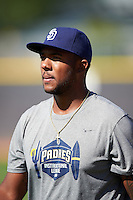 San Diego Padres pitcher Austin Smith (21) during an Instructional League camp day on October 4, 2016 at the Peoria Sports Complex in Peoria, Arizona.  (Mike Janes/Four Seam Images)