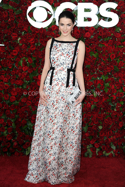www.acepixs.com<br /> June 12, 2016  New York City<br /> <br /> Bee Shaffer attending the 70th Annual Tony Awards at The Beacon Theatre on June 12, 2016 in New York City.<br /> <br /> Credit: Kristin Callahan/ACE Pictures<br /> <br /> <br /> Tel: 646 769 0430<br /> Email: info@acepixs.com
