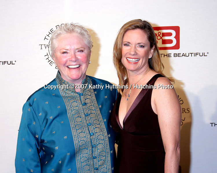 Susan Flannery & Joanna Johnson.The Bold & The Beautiful 20th Anniversary Party.Two Rodeo Drive.Beverly Hills, CA.March 25, 2007.©2007 Kathy Hutchins / Hutchins Photo.