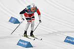 Emil Iversen (NOR). Mens sprint classic qualification. Cross country skiing. Alpensia Croos-Country skiing centre. Pyeongchang2018 winter Olympics. Alpensia. Republic of Korea. 13/02/2018. ~ MANDATORY CREDIT Garry Bowden/SIPPA - NO UNAUTHORISED USE - +44 7837 394578