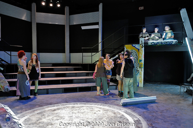 """UMASS production of """"Burial at Thebes..© 2009 JON CRISPIN .Please Credit   Jon Crispin.Jon Crispin   PO Box 958   Amherst, MA 01004.413 256 6453.ALL RIGHTS RESERVED."""