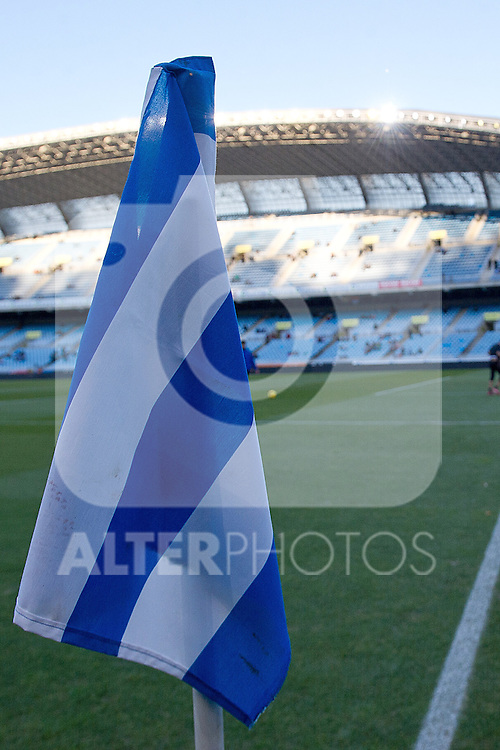 Anoeta Stadium during La Liga match.November 23,2013. (ALTERPHOTOS/Mikel)